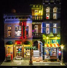 New LED Light Kit for Lego 10246 Detectives Office set usb powered bricklite