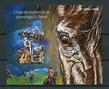 Togo 2015 MNH Search & Rescue Unit on Horseback 1v S/S Horses Mounted Search