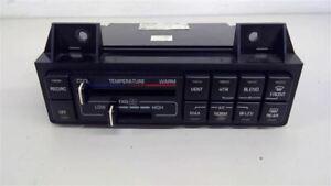 1995 Buick Lesabre Temperature Control