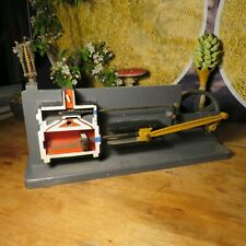 Vintage CUTAWAY STEAM ENGINE WITH GOVERNOR scale model teaching educational