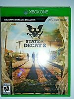 """Xbox One State of Decay 2  (Microsoft Xbox One, 2018)""""NEW"""""""