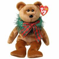 TY Beanie Baby - HOLLYDAYS the Holiday Bear (8.5 inch) -MWMTs Stuffed Animal Toy