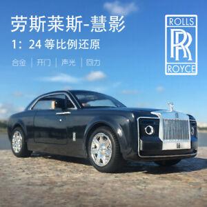 1:24 Rolls Royce Sweptail Simulation Alloy Acousto-Optic Pull Back Car Model
