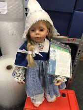 Donna Rubert Vinyl Puppe Marit 64 cm. Top Zustand