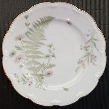 Meissen Speiseteller G3806 indische Blumenzweige Schwanendessin D = 24 cm
