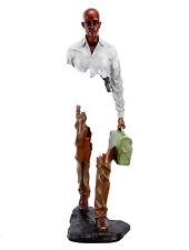 Moderne Künstler Bronze Skulptur - Erased Man II - limitiert - von Martin Klein