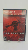 Red Faction Greatest Hits Playstation 2 PS2 Video Game Complete