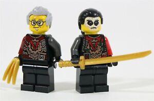 LEGO NINJAGO ACRONIX KRUX MINIFIGURES HANDS OF TIME TWINS MADE OF GENUINE LEGO