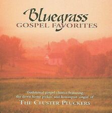 The Cluster Pluckers : Bluegrass Gospel Favorites CD