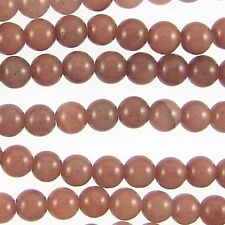 Chocolate Aventurine 6mm Round Beads 78982