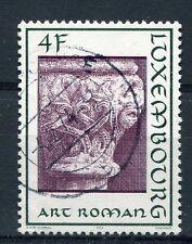 LUXEMBOURG,  1973, timbre 816, ARCHITECTURE, ART ROMAN, oblitéré