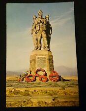 The Commando Memorial, Spean Bridge, Inverness-shire, Vintage RP Postcard WW2 II