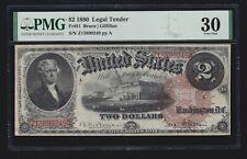 US 1880 $2 Legal Tender FR 51 PMG 30 VF (249)