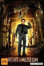Night At The Museum (DVD, 2007) Ben Stiller R4 Aust Brand New Sealed Free Post
