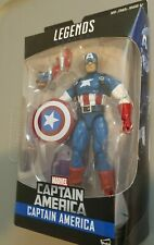 "Marvel Legends 6"" CAPTAIN AMERICA Figure Red Skull Onslaught BAF wave"