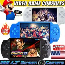 4.3'' 8GB 32Bit 10000+Games Built-In Handheld MP5 Video Game Console Portable US