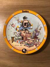 Steelers Plate Gary Patterson