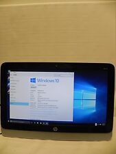 "HP 19-2114 19.5"" AMD 1.4GHz 4GB 500GB DVDRW WiFi Windows 10 All-In-One Desktop"