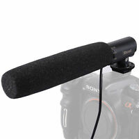 DC/DV Audio Microphone MIC+Hot Shoe Mount Adapter fr Sony Camera a37/a35/a33/a77