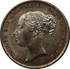 Moneda chelín plata 1842 victoria victoria (1837-1901)