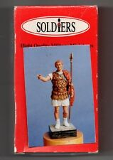 SOLDIERS MINIATURES SR-9 - GEN. ROMANO G.C. GERMANICO 15 A.C. - 54mm METAL