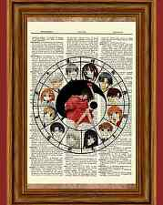 Fruits Basket Zodiac Dictionary Art Print Picture Poster Anime