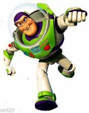 """6"""" DISNEY TOY STORY BUZZ LIGHTYEAR CHARACTER WALL SAFE STICKER BORDER CUT OUT"""