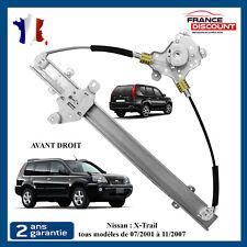 Leve Vitre Passager Avant Droit Nissan X-Trail 2001-2007 807208H300 807208H30A