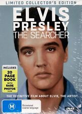 Elvis Presley The Searcher With Book Limited Edition DVD Region 2 4