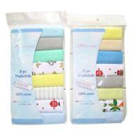 Baby Saliva Towel Cotton Newborn Washcloth Toddler Feeding Nursing Burp Cloth