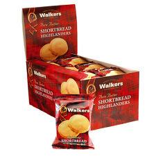 WALKERS SHORTBREAD HIGHLANDER Original / Twin pack 24PC/BX Kosher Cookies