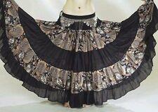 NEW!!Tribal BellyDance ATS Gypsy 25 Yard Skirt Earthy!!