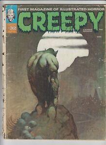 Creepy (Magazine) #32 POOR; Warren   low grade - Frazetta - we combine shipping