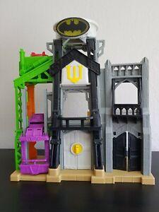 2015 Mattel Imaginext Batman Batcave Playset Gotham Super Hero DC Universe Comic