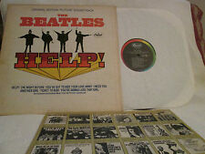 THE BEATLES..HELP ..ORG '65 MONO CAPITOL BRIT-POP W/KEN THORNE VG+