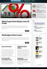 MORTGAGE & LOANS HELP BLOG WEBSITE BUSINESS FOR SALE!