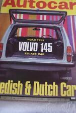 June Autocar Cars, 1960s Transportation Magazines in English