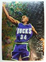 1996 96-97 Fleer Metal Ray Allen ROOKIE RC #186, Bucks, Heat