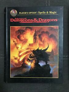 AD&D, 2nd Edition, Players Option: Spells & Magic