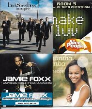 LOT 8 SINGLES VI NEUF SCELLE ROXETTE/BUSTA RHYMES/GRID/BACKSTREETBOYS/FOXX ETC