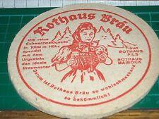 sottobicchiere beer mats birra bierdeckel 030317 rothaus brau