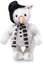 NEW Luxury STEIFF LTD MONTY SNOWMAN TED Teddy Bear Fully Jointed + Box 021718