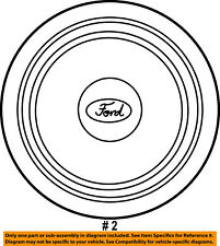 FORD OEM 04-07 E-350 Super Duty Wheels-Cover 4C2Z1130AA