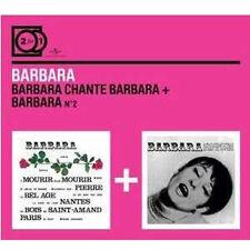 2 CD BARBARA Barbara Chante Barbara - Barbara N° 2 ++++
