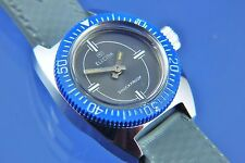 VINTAGE con Electra subacquei Swiss WIND UP WATCH NOS NEW OLD STOCK circa 1960 S