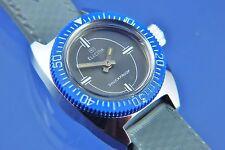 Vintage Retro Electra buzos reloj suizo Wind Up nos nuevo viejo stock alrededor de 1960s
