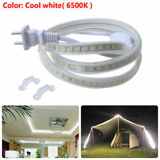 LED Strip Light Flexible Tape Rope Lamp 6500K Outdoor Lighting Waterproof 110V