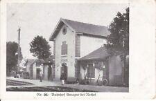 uralte AK, Bahnhof Amagne Rethel Frankreich Feldpost 1917