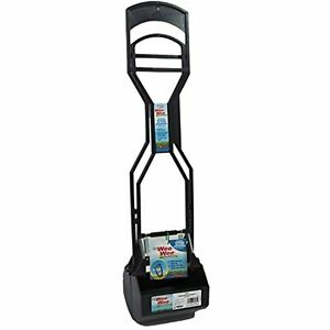 """Four Paws Allen's Spring Action Dog Scooper For Grass Standard Black 5.13"""" x"""