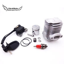 L7T Spark Plug Ignition Coil 40mm Cylinder Piston Kit 47cc Mini Dirt Pocket Bike